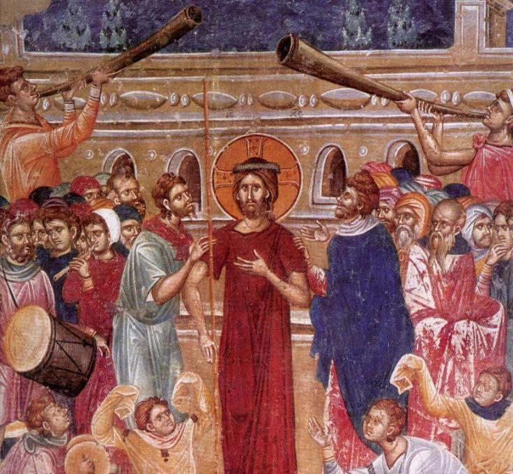 zalavjane Jesus predicts his death Macedonian monastery