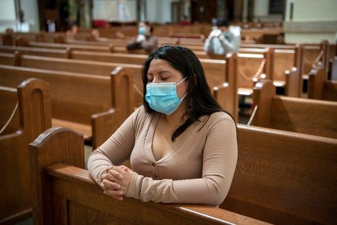 mask - praying